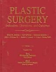 Plastique Chirurgie Vol. 1: Indications, Opérations, Outcomes Reliure Achauer
