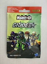 GI Joe Cobra Scrap Iron #66 Kre-O Series 3 Hasbro 2014 Toys R Us Exclusive MISB