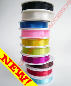 0.3mm Non Elastic / Non Stretch Crystal Beading String Cord Thread Fishing Line