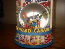 Walt Disney MICKEY Mouse SNOWGLOBE Musical Figure Classic Cartoons Posters *NEW*