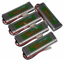 7.2V 6800mAh Ni-MH Rechargeable Battery RC Tamiya x5