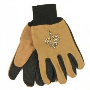 NEW ORLEANS SAINTS NFL Utility Gloves FREE U.S. Ship