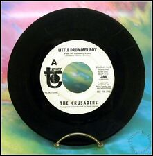 "The CRUSADERS ""Little Drummer Boy"" Tower 286, 45rpm White Label Promo, 1966"