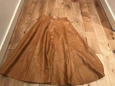 Ralph Lauren Roxana Midi Leather Skirt. BNWT. Size US6. RRP£3990