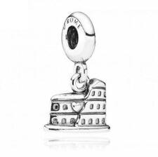 Original Pandora Element Bead Charm 791079 Anhänger Kolosseum Rom 925 Silber OVP