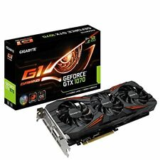 Cartes graphiques et vidéo NVIDIA GeForce GTX 1070 pour ordinateur avec mémoire de 1 Go