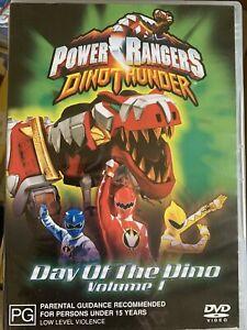 DVD: Power Rangers Dino Thunder - Day of the Dino Volume 1