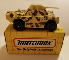 VINTAGE 1973 MATCHBOX MB#70 MILITARY TANK. NEW IN BOX.       C21#2dr