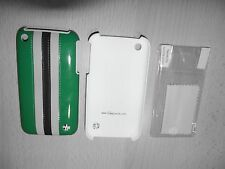 TREXTA Apple iPhone 3 3g 3gs Custodia Cover Pellicola Protettiva per Display Custodia Protettiva Verde