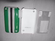 Trexta Apple iPhone 3 3G 3GS Tasche Cover Display Schutzfolie SchutzHülle Grün