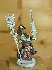 CLASSIC METAL ELDAR ELDRAD ULTHRAN FARSEER OF ULTHWE PART PAINTED (3155)