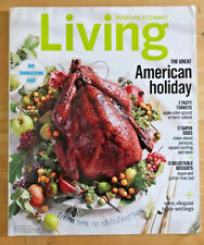 Martha Stewart Living 2015 Thanksgiving Issue Recipes Baskets Ancient Grains