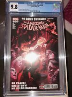 Amazing Spiderman #800 CGC 9.8 giant size Red Goblin Alex Ross free shipping