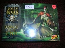 "Lindberg #Hl611 ""Jolly Roger ""Dismay Be The End "" 1/12 List $24.50 Lot #13251"
