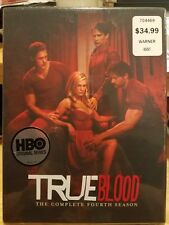 True Blood: The Complete Fourth Season (DVD, 2012, 5-Disc Set) - New
