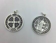 Médaille Protectrice de Saint Benoît (métal argenté)