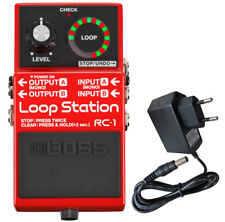 Boss RC-1 Loop Station Looper-Pedal + Keepdrum Power Supply 9V