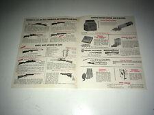 Crossman Vintage Brochure Catalog 1970s Co2 Air Rifles Pellet Guns Revolvers