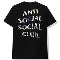 ANTI SOCIAL SOCIAL CLUB Black Tonkotsu Shirt Japanese Waves Members Only SIZE M