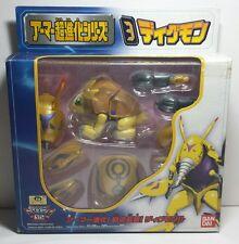 Rare Japanese Bandai Digimon Armor Digivolving Armadillomon Digmon Action Figure