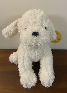 Melissa And Doug White Curly Haired Fluffy Bichon Frise Dog