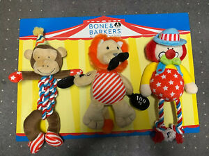 Bone & Barkers Dog Toys - Summer Circus Fantasy - New & Unused
