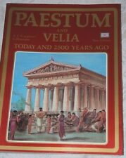 PAESTUM & Velia - Today & 2500 Years Ago, Vintage Colour Guidebook, 1985