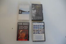 PIERRE BACHELET LOT 4 K7 AUDIO TAPE CASSETTE.