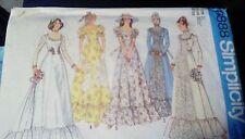 Vtg 70s Sew Pattern~Bridal Dress Wedding Gown~6888~10/32~UNCUT~Retro 1975