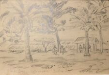 John Taylor 49 Pencil Alma Bay Original Art Work