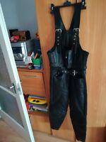 Motorrad Lederhose Polo Road, biker leather pants