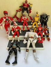Mighty Morphin Power Rangers Lot Of 10 90-00