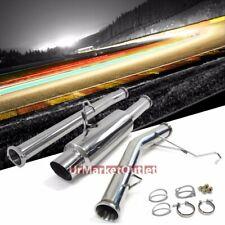 "4.50"" Muffler Tip Exhaust Catback System For Toyota 86-92 Supra MK3 NA 7MGE"