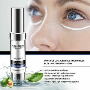 Anti puffiness Aloe Extract Skin Care Collagen Eye Cream Eye Serum Essence
