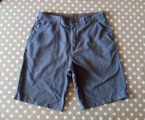 Men's Rohan Fusion Grey Light Hiking Shorts - Size 34W - Very Exact Waist