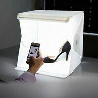 Photography LED Light Box Studio Photo White Backdrop Portable Softbox Lighting