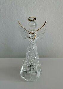 Vintage Engel Schutzengel aus Glas