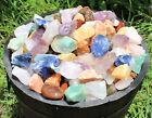 1000 Carat Bulk Lot Brazil Mix Large Bulk Natural Rough Tumbler Rocks Stones For Sale