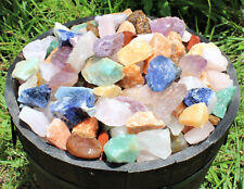 1000 Carat Bulk Lot Brazil Mix Large Bulk Natural Rough Tumbler Rocks Stones