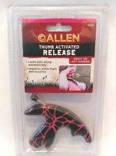 ALLEN Compact Thumb Activated Release Black/Hot Pink Archery Bow Hunting 15393