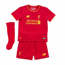 Maillots de football de club étranger rouge enfants