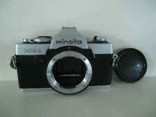 Minolta XG-1 35mm SLR Film Camera Body Only with Case and Cap
