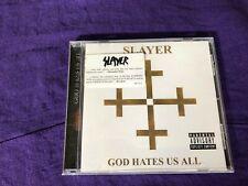Slayer God Hates Us All CD 2001 - Anthrax Vio-lence Overkill Exodus