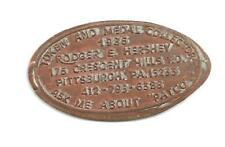 (Pgasteelers1) Elongated Cent  Pittsburgh,PA.Token& Medal Collector 1986