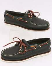 Timberland 2 Eye Boat Shoe in Navy Blue Leather - deck shoe