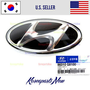 FRONT Grille Emblem Badge Logo ⭐GENUINE⭐ 86310G8100 for HYUNDAI SONATA 2018-2019