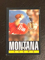 1985 Topps Football Joe Montana Card #157 EX-NM HOF San Francisco 49ers