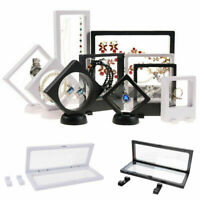 1PC Display Stand Floating Challenge Coin Medal And Coin Holder Display Box Case