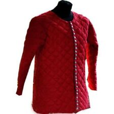 Medieval Thick Padded Red Gambeson Play Movies Theater Custome Sca