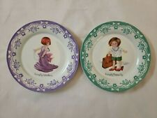 Set of 2 Mary Engelbreit Plates Simply Grown Up & Simply Fabulous